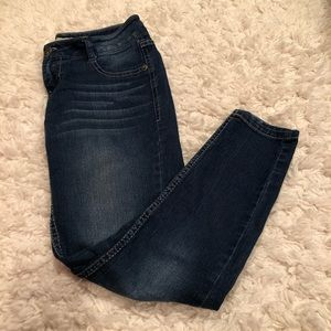 Paris Blues Skinny Jeans Dark Wash Size 1